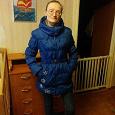 Отдается в дар Удлиненная куртка -пуховик 40-42