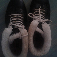 Отдается в дар Обувь зимняя
