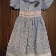 Отдается в дар летнее платье на девочку 6-8 лет