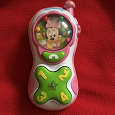 Отдается в дар Игрушечный телефон для самых маленьких