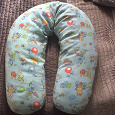 Отдается в дар Подушка для беременных и кормления