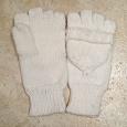 Отдается в дар Перчатки — варежки белые