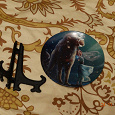 Отдается в дар Тарелочка сувенирная знак зодиака Лев