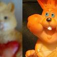 Отдается в дар оранжевые статуэтки — фигурки в коллекцию