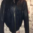 Отдается в дар Зимняя кожаная куртка мужская 56 размер