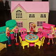 Отдается в дар Детская игрушечная мебель для мини-Барби