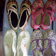 Отдается в дар Летняя обувь для девочки.