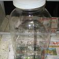 Отдается в дар Банка стеклянная с крышкой на 5 литров