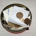 Отдается в дар Коробка монет