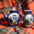 Отдается в дар заварочный чайник и вазочка