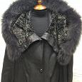 Отдается в дар кожаное пальто женское 54-56