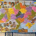 Отдается в дар Карта-пазл України