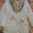 Отдается в дар Зимнее пальто на синтепоне размер 50