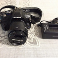 Отдается в дар Зеркальный фотоаппарат OLYMPUS E-420 KIT 14-42