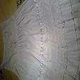 Отдается в дар Женская белая юбка. ХМ