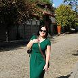 Отдается в дар Зеленое платье 46-48 размера