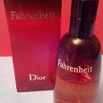Отдается в дар Туалетная вода Fahrenheit от Dior для мужчин