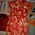 Отдается в дар Платьице-туника в китайской тематике