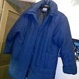 Отдается в дар Куртка тёплая, женская, размер 58-60.