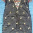 Отдается в дар платье в этно-стиле (р. около 44)
