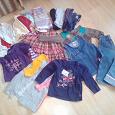 Отдается в дар Пакет вещей для девочки на 1-2 года