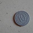 Отдается в дар Монета 10 Чехия 1963 год