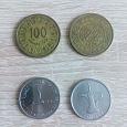 Отдается в дар Монеты: дирхам ОАЭ и миллимы Тунис