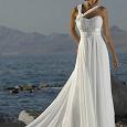 Отдается в дар Свадебное платье в греческом стиле