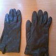 Отдается в дар перчатки натуральная кожа