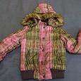 Отдается в дар Куртка зимняя на девочку