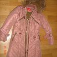 Отдается в дар Зимнее пальто для девочки