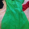 Отдается в дар Платье-сарафан 38 размер зеленое