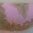 Отдается в дар Платок розовый, квадратный, легкий