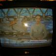 """Отдается в дар Телевизор кинескопный LG с VHS проигрывателем 20"""""""