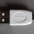 Отдается в дар Переходник Transcend USB (M) — miniUSB (M) новый