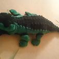 Отдается в дар мягкая игрушка — крокодил