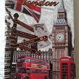Отдается в дар Блокнот из Лондона.