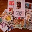 Отдается в дар Коллекция гашеных современных марок