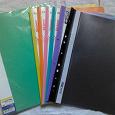 Отдается в дар Цветные папки-скоросшиватели 20 шт.
