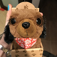 Отдается в дар МАленькая мягкая игрушка — щенок
