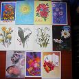 Отдается в дар Советские открытки разной тематики