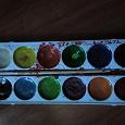 Отдается в дар Остатки красок акварельных, карандашей