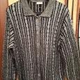 Отдается в дар Серый свитер на пуговках