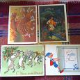 Отдается в дар открытки СССР «детская тема» подписаны