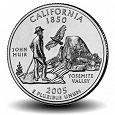 Отдается в дар 25 центов Калифорния