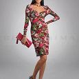 Отдается в дар Яркое красивое платье 42-44