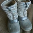 Отдается в дар Детская зимняя обувь