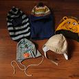 Отдается в дар осенние и зимние шапки на мальчика (4-7 лет)