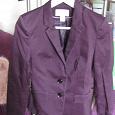 Отдается в дар женский пиджак H@M, 40-42, баклажановый цвет
