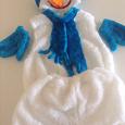 Отдается в дар Новогодний костюм снеговика на 3-6 лет